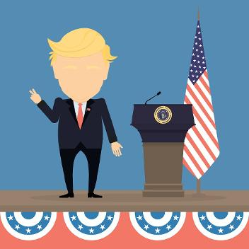 Play the Game: Was verdient Donald Trump?
